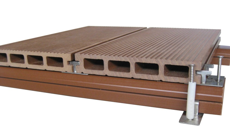 Tecnicas de instalaci n de deck timberfloors for Wpc decking